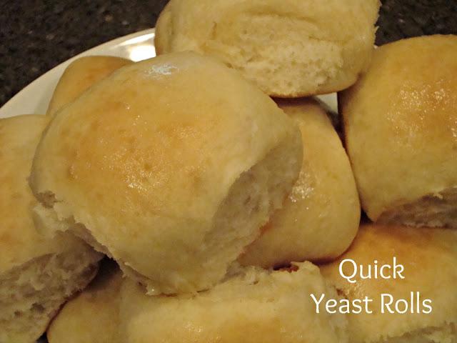 Quick Yeast Rolls