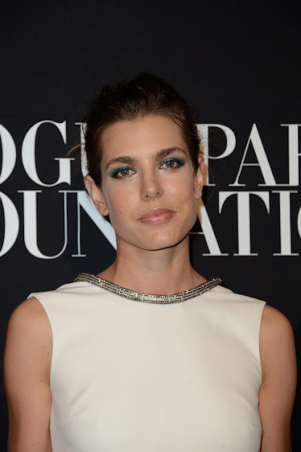 Charlotte Casiraghi attended the Vogue Foundation Gala as part of Paris Fashion Week