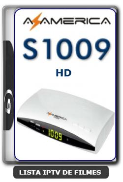 Azamerica S1009 HD Nova Atualização Melhorias no sistema SKS e IKS V2.52 - 09-06-2020