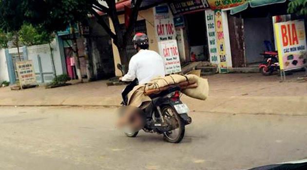 Foto Jenazah Diangkut Motor Viral di Medsos, Warga Vietnam Meradang