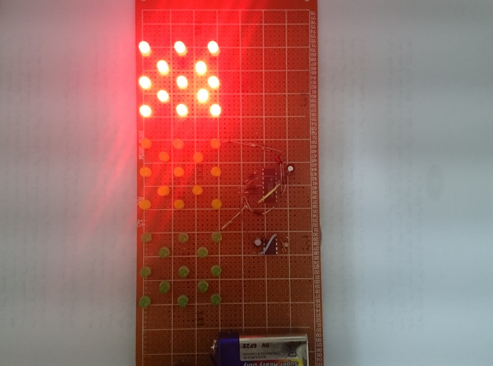 Light Gate With Counter Using 555 And 4033