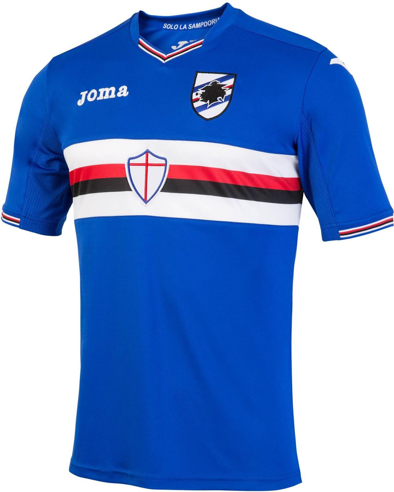 Sampdoria 16-17 Home, Away and Third Kits Released - Footy Headlines