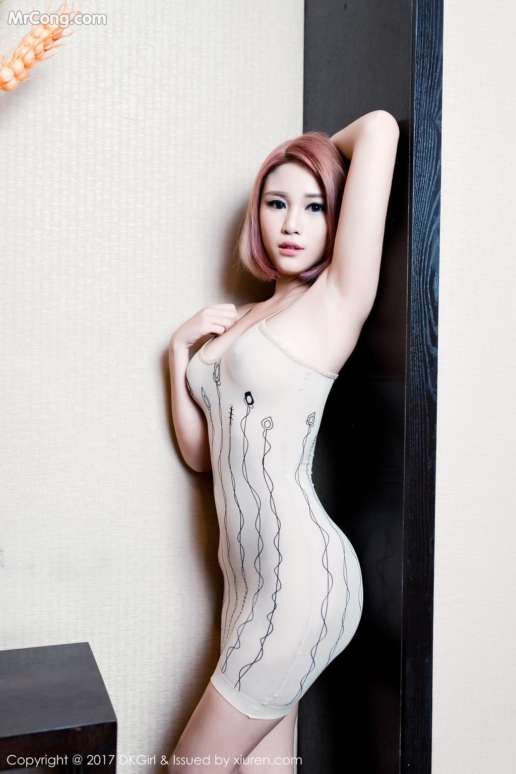 Image DKGirl-Vol.045-Meng-Bao-Er-BoA-MrCong.com-027 in post DKGirl Vol.045: Người mẫu Meng Bao Er (萌宝儿BoA) (56 ảnh)