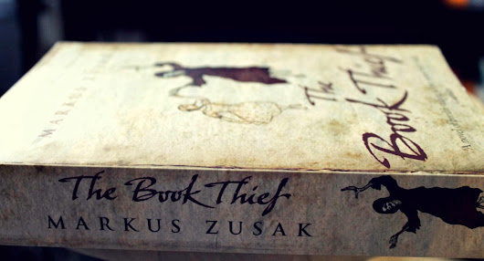 The Book Thief -and globbed-together eyelashes