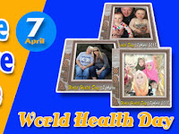 Frame for Profile Picture on Facebook, World Health Day 2018