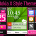 Nokia X Style Theme For Nokia 202,300,303,X3-02,C2-02,C2-03,C2-06,C3-01 Touch and Type Devices