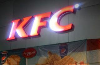 JAM BUKA GERAI KFC