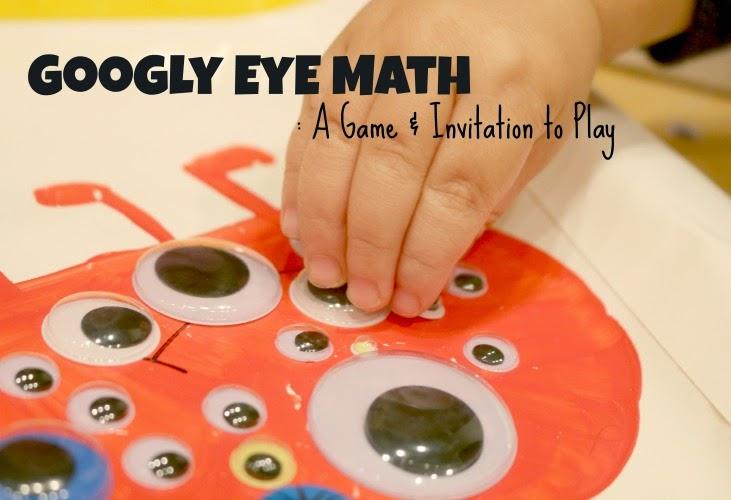 googly eye monster math