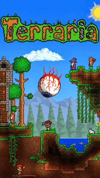 A new Sandbox adventure game Terraria available now for Android for free, paid for iOS devices
