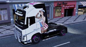 Nicki Minaj skin for Volvo 2012