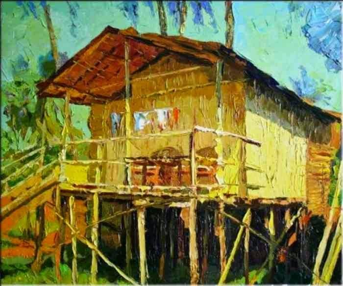 Талантливый российский художник. Михаил Рудник