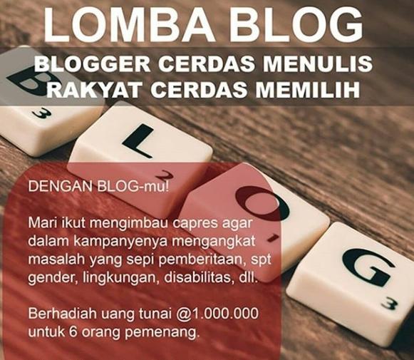 lomba blog februari hadiah 6 juta