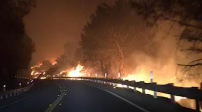 california deadliest wildfires