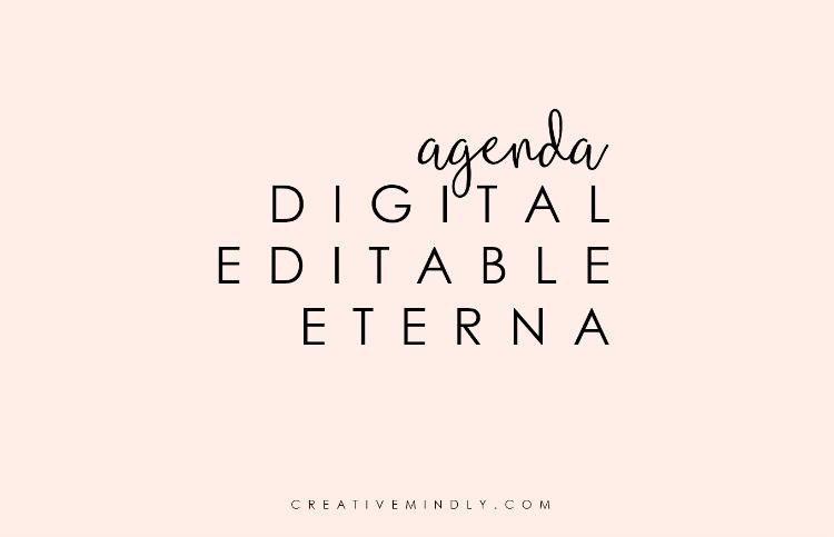 agenda_bonita_digital_editable