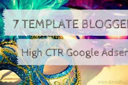 Daftar Template Blog High CTR Google Adsense