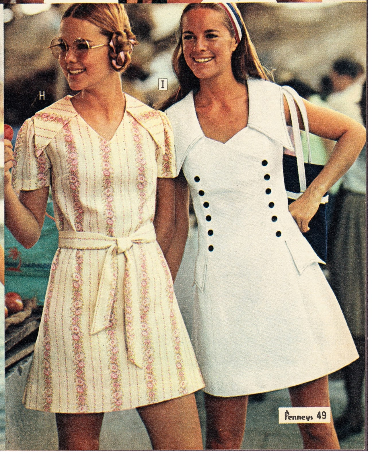 303a7b0ce29 Another shot of some groovy summer dresses from Penny s.
