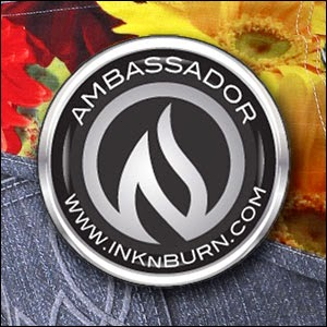 Proud to be an INKnBURN ambassador!