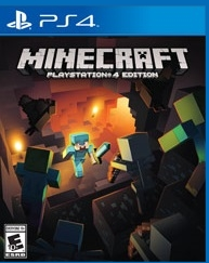 Minecraft PlayStation 4 Edition CUSA00744 | PS4 games mods tools