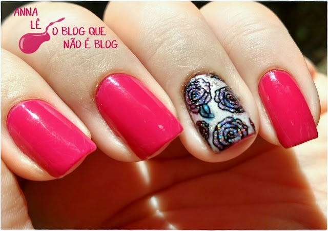 esmalte Rosa Chiclete Ludurana IDK China Glaze