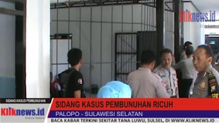 Video Sidang Kasus Pembunuhan Ricuh