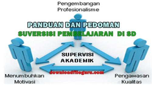 Pedoman dan Panduan Supervisi Pembelajaran SD