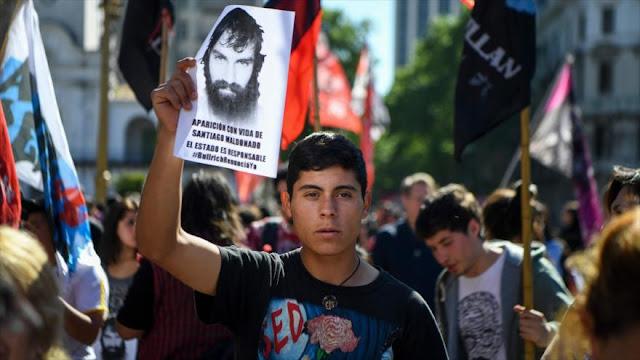 """Muerte de Maldonado rememora episodios de dictadura argentina"""