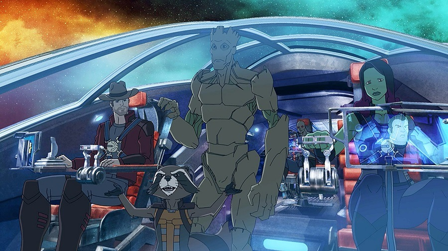 guardiões da galáxia 1ª temporada dublado 720p hd torrent desenho