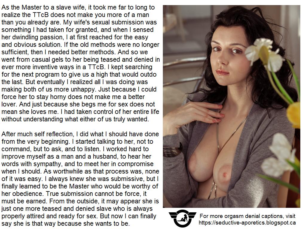 Montana pregnant orgasm denial captions technique sex drive