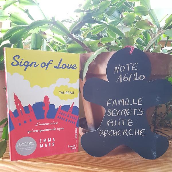 Sign of Love, tome 1 : Taureau de Emma Mars