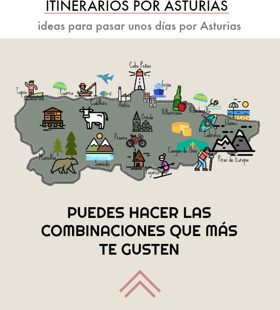 que visitar en asturias itinerarios