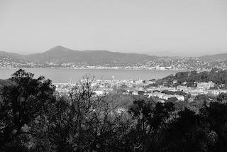 Vue sur Saint-Tropez de Sainte-Anne
