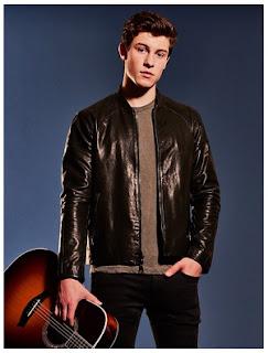 Gambar Jaket Kulit Shawn Mendes Terbaru