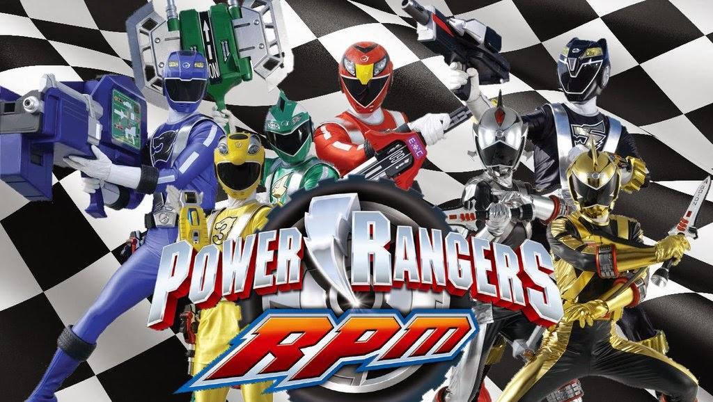 Power Rangers RPM -Siêu Nhân Xe Đua