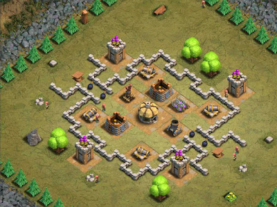 Goblin Base Clash of Clans Danny Boy