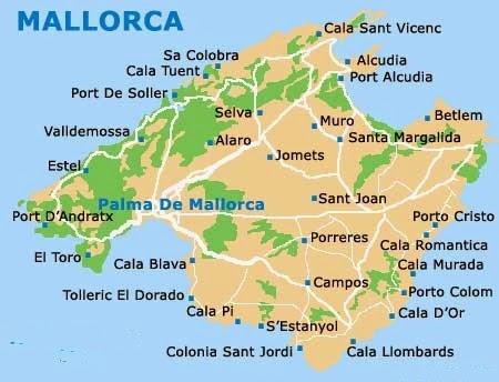 Turvat Kohti Tallia Mallorcaa