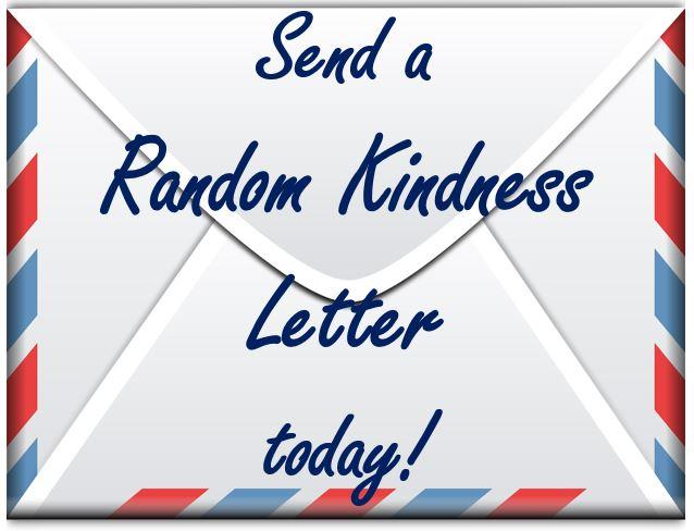 Random Kindness Letters