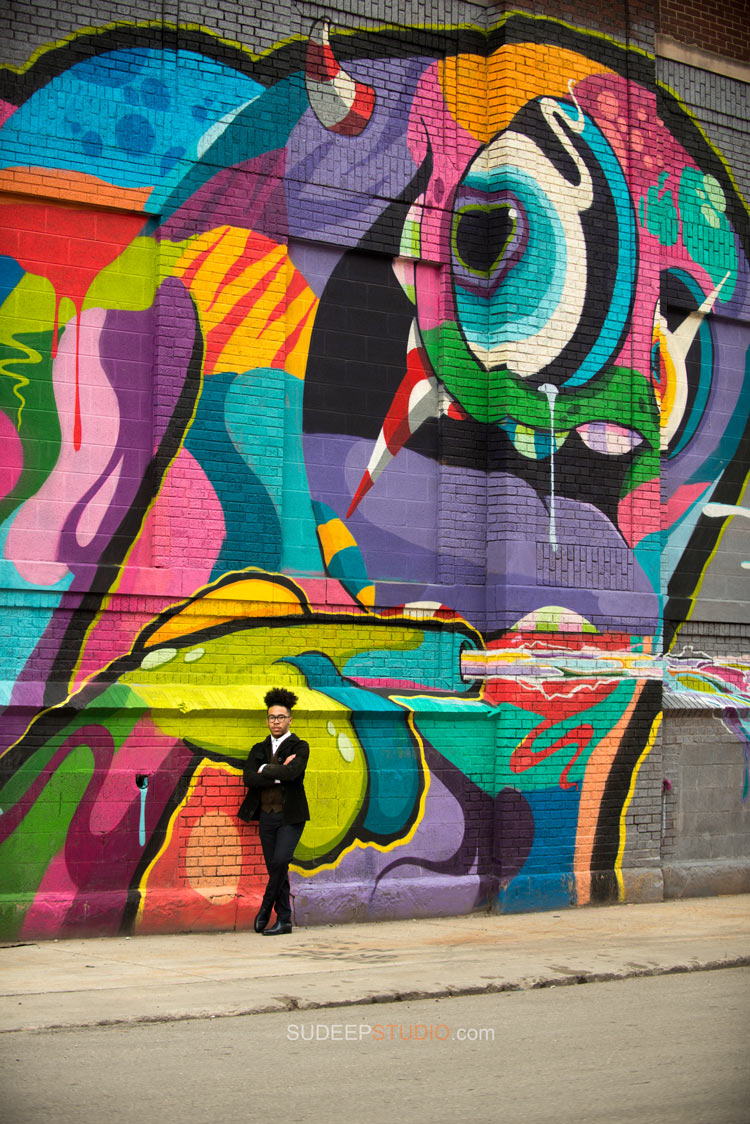 Best Graffiti Senior Pictures Portait Photography Ideas Detroit Ann Arbor - Sudeep Studio.com