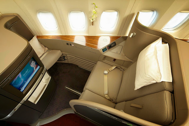 Cathay Pacific First Class upgrades its first class seat with a more premium look