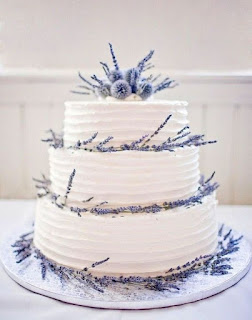 Top Lavender themed Wedding Cakes