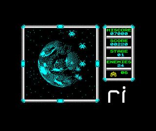 Retroinvaders de Climacus para ZX Spectrum