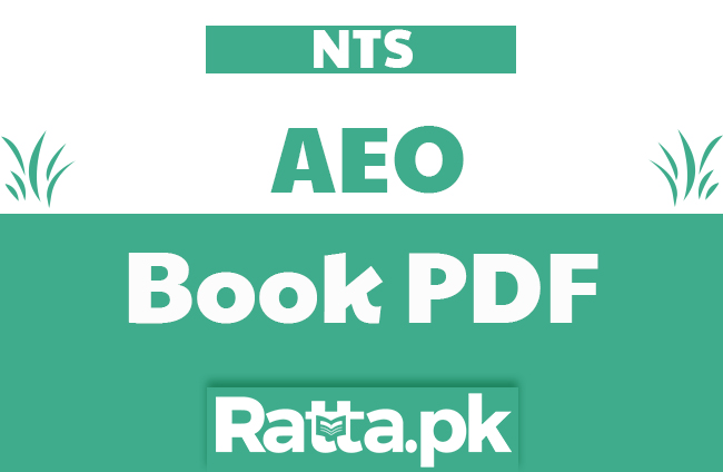 Assistant Education Officer book pdf download for Test Preparation - AEO NTS Test
