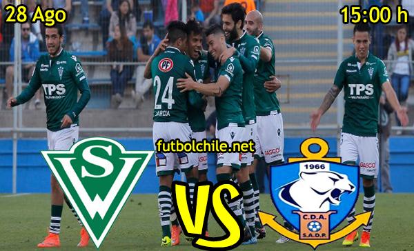 Ver stream hd youtube facebook movil android ios iphone table ipad windows mac linux resultado en vivo, online: Santiago Wanderers vs Deportes Antofagasta