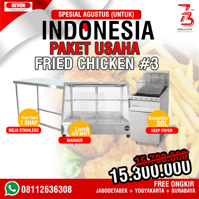 Paket Usaha Fried Chicken