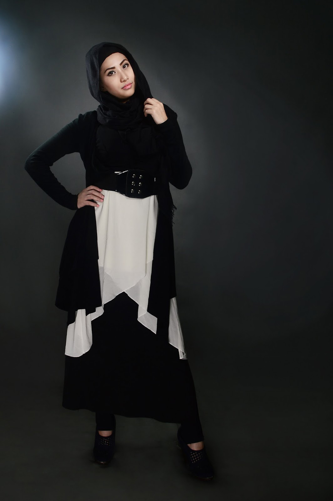 model hijab untuk wajah bulat model hijab syar'i model hijab simple model hijab modern