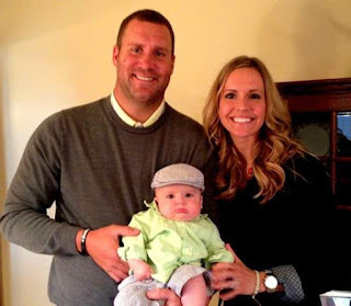 Ben Roethlisberger wife Ashley Harlan With thier Kidss