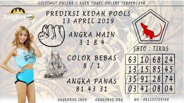 Prediksi Angka Jitu KEDAH POOLS 13 APRIL 2019
