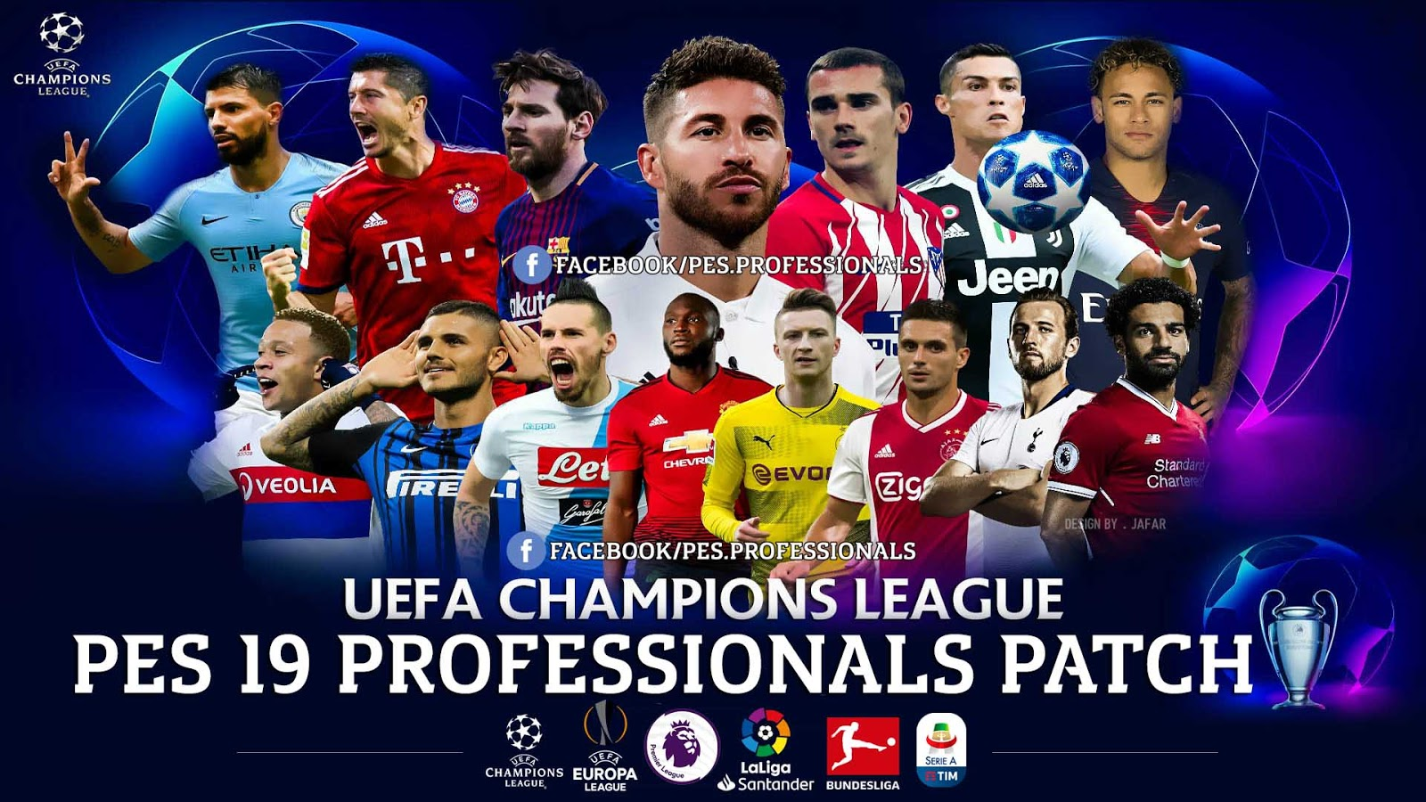 PES 2019 Professionals Patch V1 - Released 10/12/2018