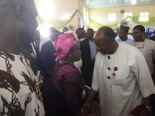 , Patience Jonathan and Rotimi Amaechi 'After the reggae play the blues' act., Latest Nigeria News, Daily Devotionals & Celebrity Gossips - Chidispalace