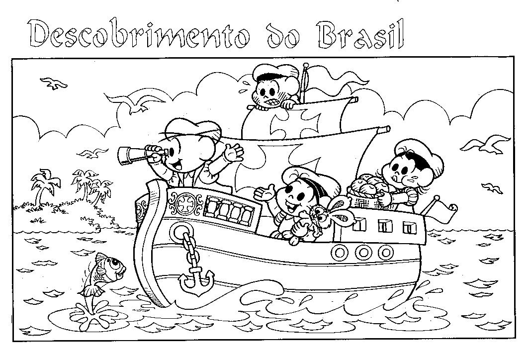 Descobrimento Do Brasil 65 Atividades Exercicios E Desenhos Para