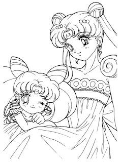 Ausmalbilder Sailor Moon zum Ausdrucken